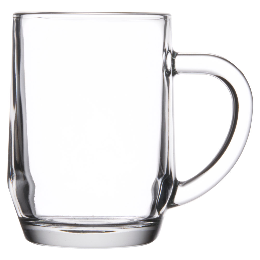 how to clean glass mugs