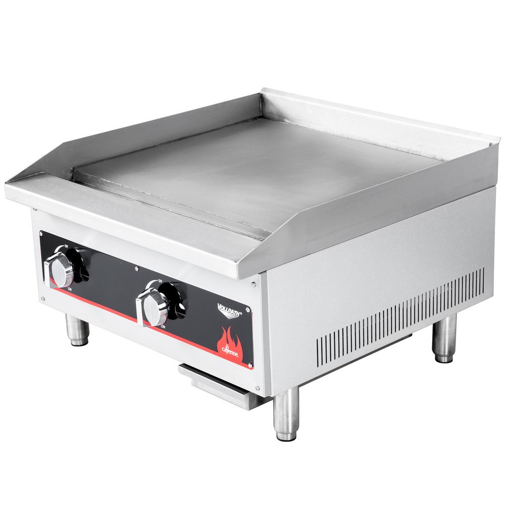 24 Gas Griddle ~ Vollrath cayenne quot flat top gas countertop griddle