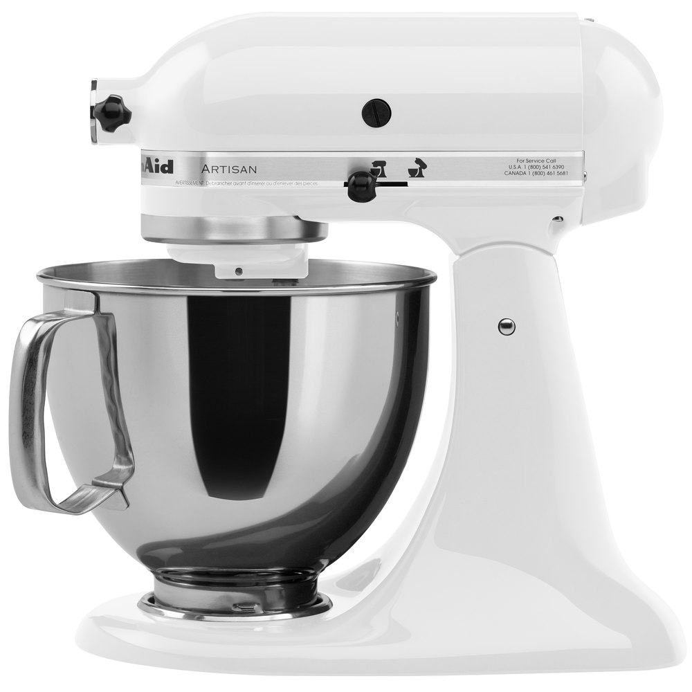 White Kitchenaid