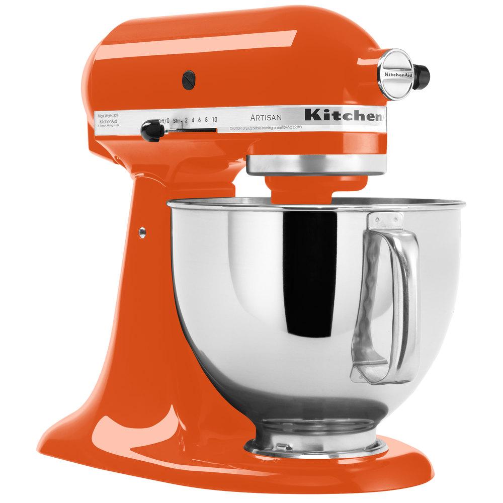 Kitchenaid Ksm150pspn Persimmon Artisan Series 5 Qt