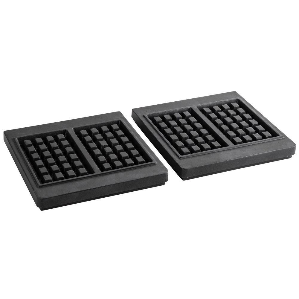 Carnival King PWBSGRID Brussels Style Waffle Iron Grid for WBS46 - 2/Set