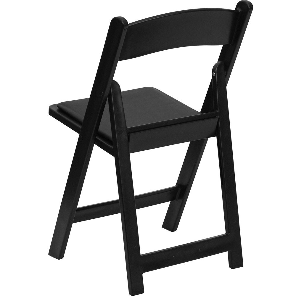 Black padded folding chairs -  Black Plastic Folding Chair With Main Picture Image Preview Image Preview Image Preview