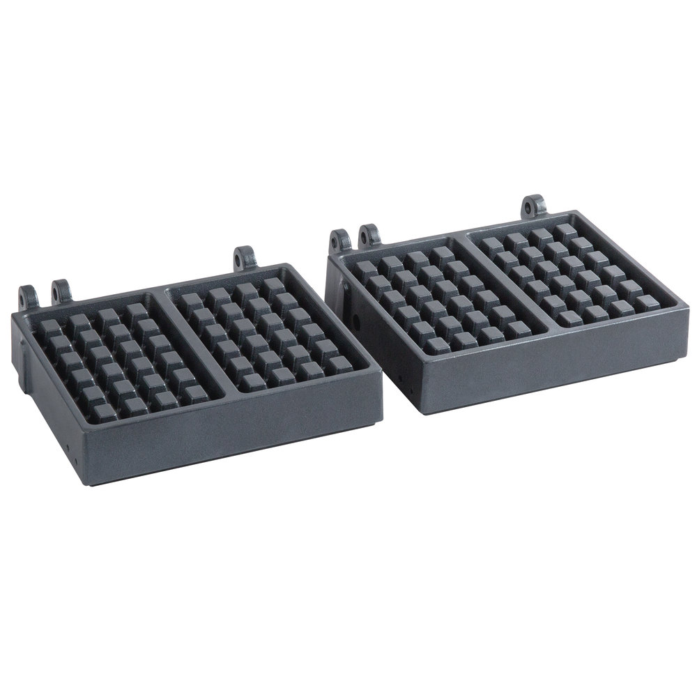 Carnival King PWBSGRID2 Brussels Style Waffle Iron Grid for WBS180 - 2/Set