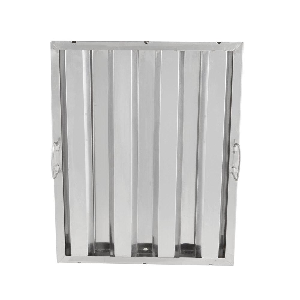 Regency 20 inch x 16 inch x 2 inch Stainless Steel Hood Filter