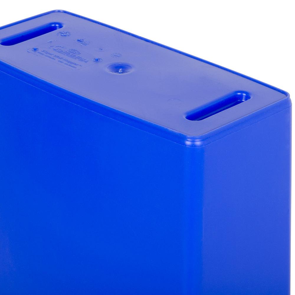 Continental 8322 1 23 Gallon Blue Wall Hugger Slim