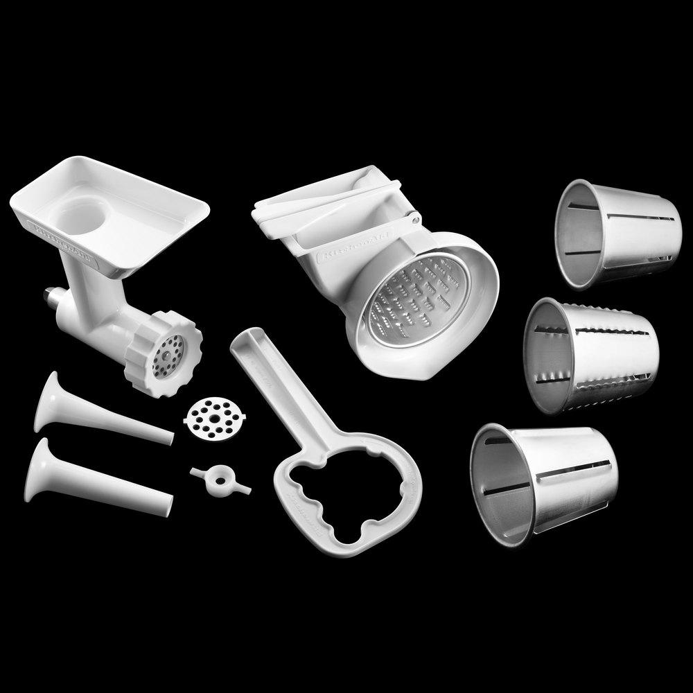 Kitchenaid Attachments Cheese Grater kitchenaid kgssa attachment pack for stand mixers