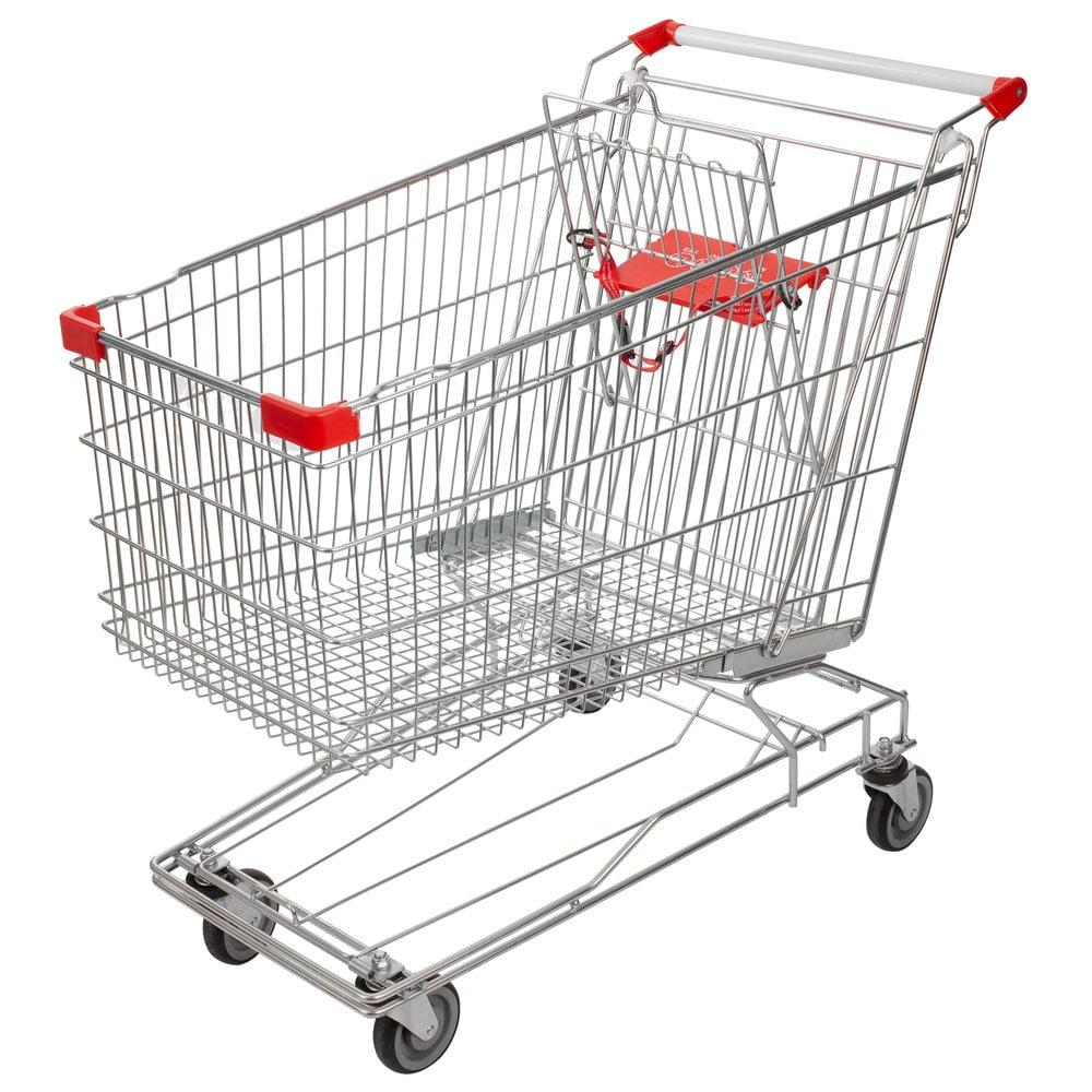 Regency Supermarket Grocery Cart 8.5 Cu. Ft.