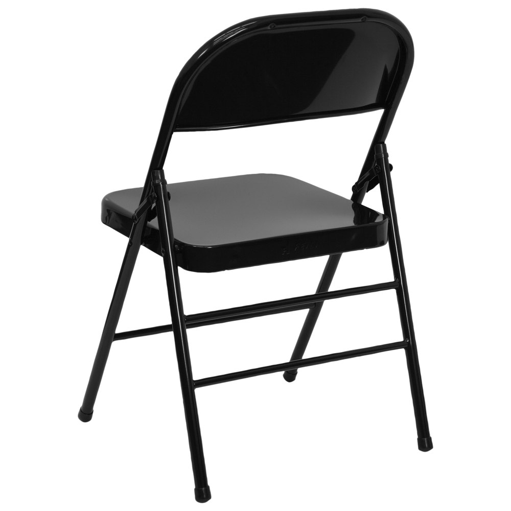 Black folding chair -  Black Metal Folding Chair Main Picture Image Preview Image Preview