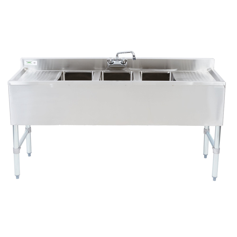 Inspirational Bar Sink with Drainboard
