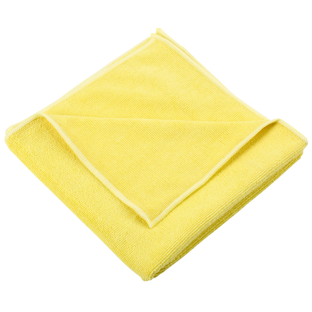Heavy Duty Cloth : Unger mf j smartcolor microwipe quot yellow heavy