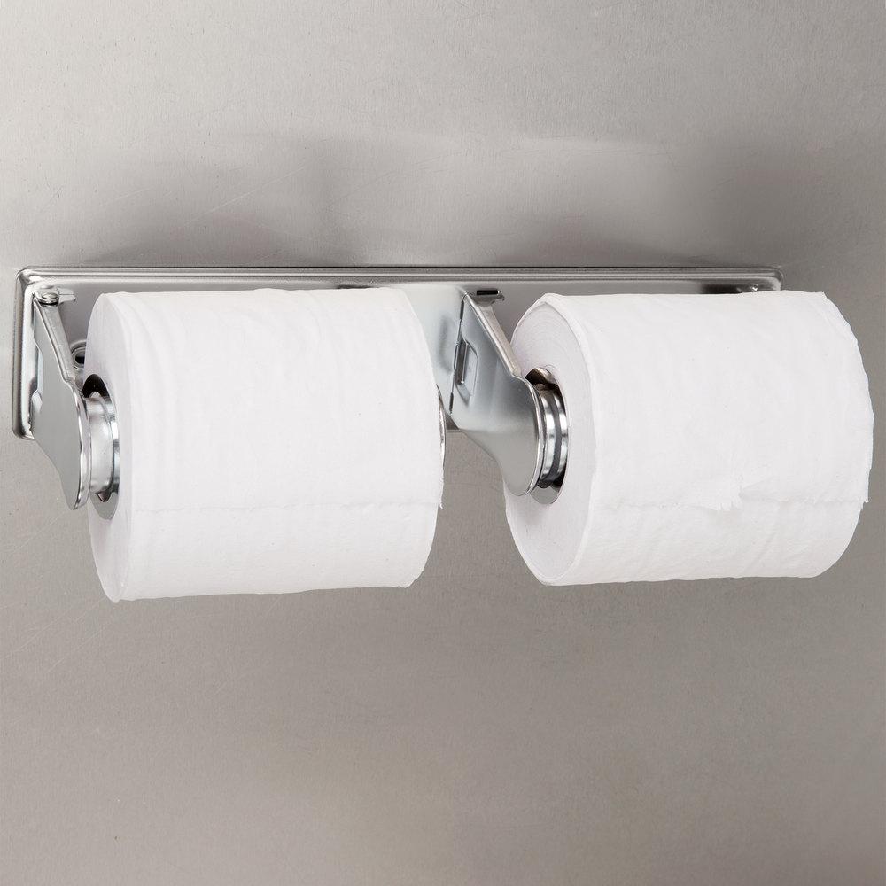 San Jamar R260xc Locking Double Roll Toilet Tissue