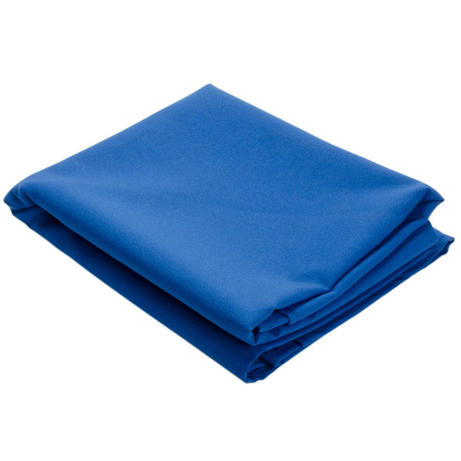 120 royal blue round hemmed polyspun cloth table cover for 120 round table cover