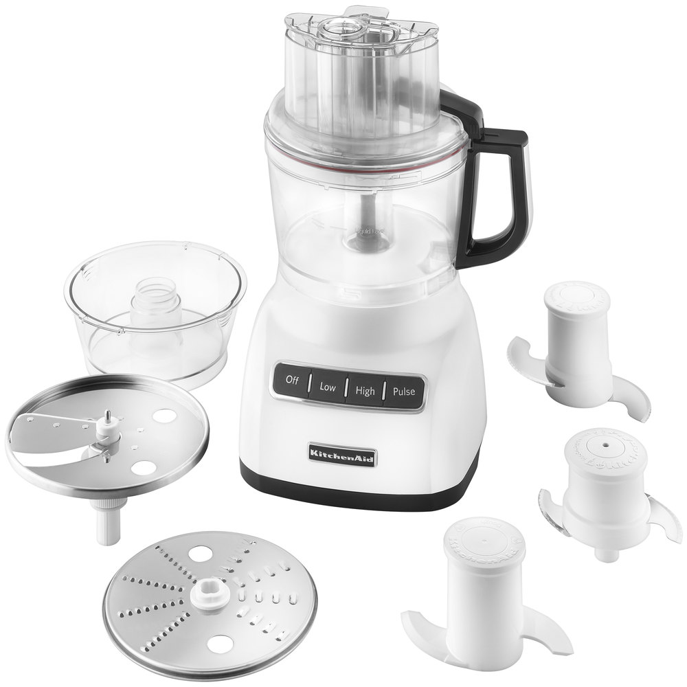 KitchenAid KFP0922WH White 9 Cup Food Processor. Main Picture; Image  Preview; Image Preview; Image Preview ...