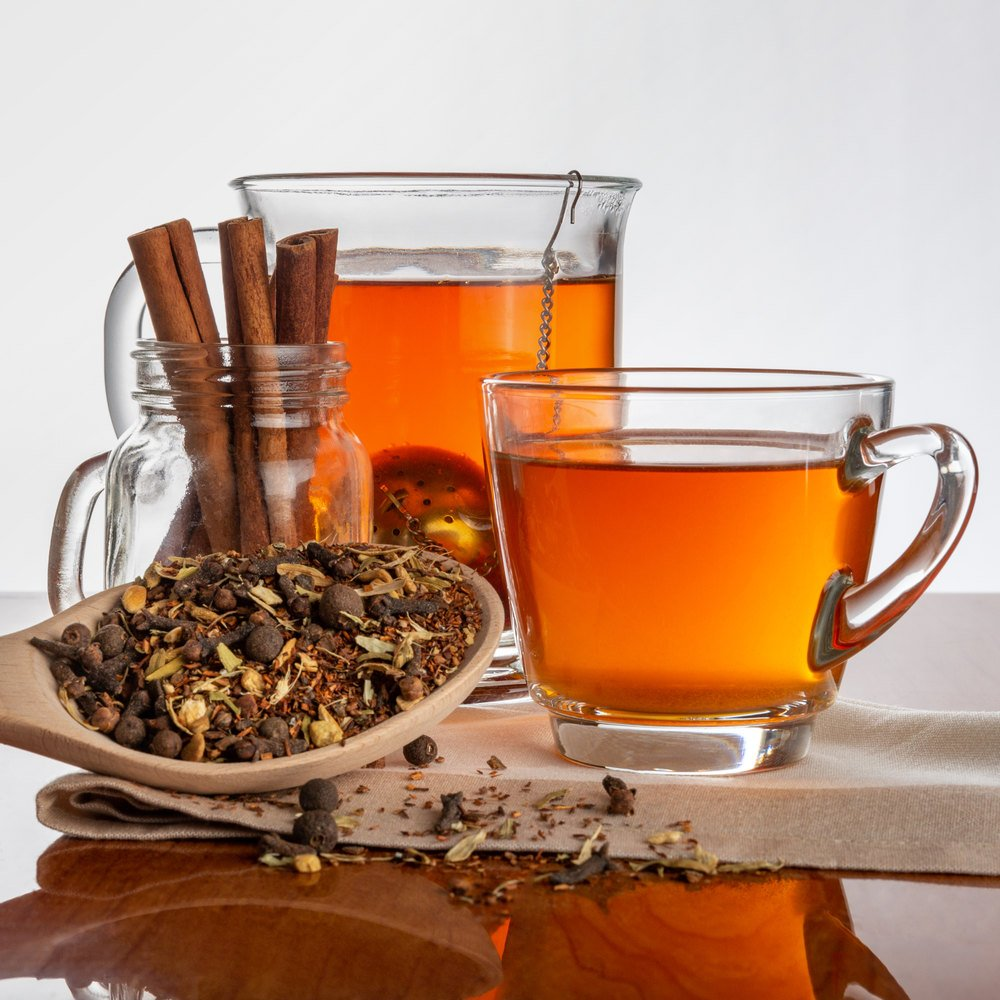 Cup of rooibos chai tea