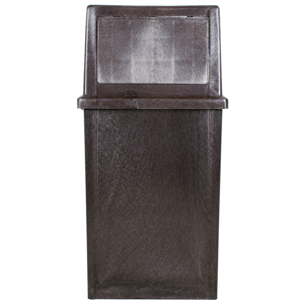 35 Gallon Trash Can WebstaurantStore
