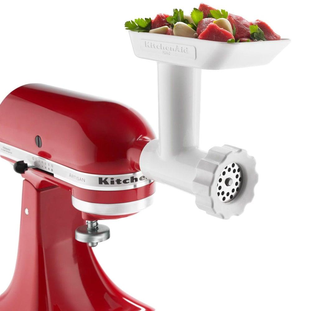 Kitchenaid Attachments Meat Grinder Kitchenaid Fga Food Grinder Attachment For Stand Mixers