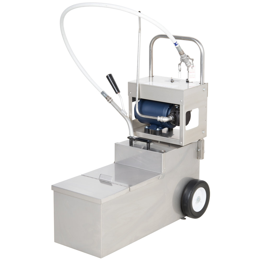 fryer filter machine