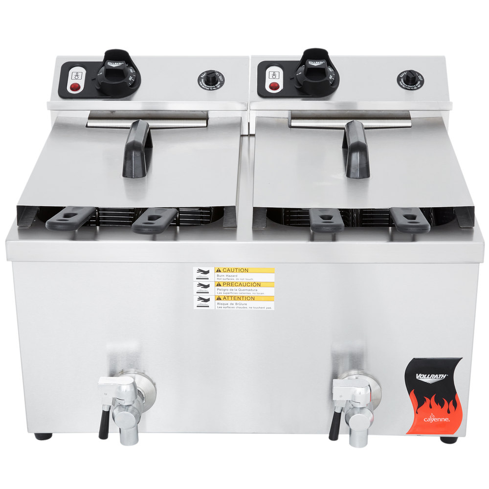 Commercial Countertop Deep Fryer 208 240v