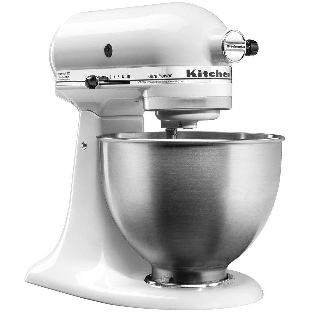 KitchenAid KSM95WH White Ultra Power Series 4.5 Qt