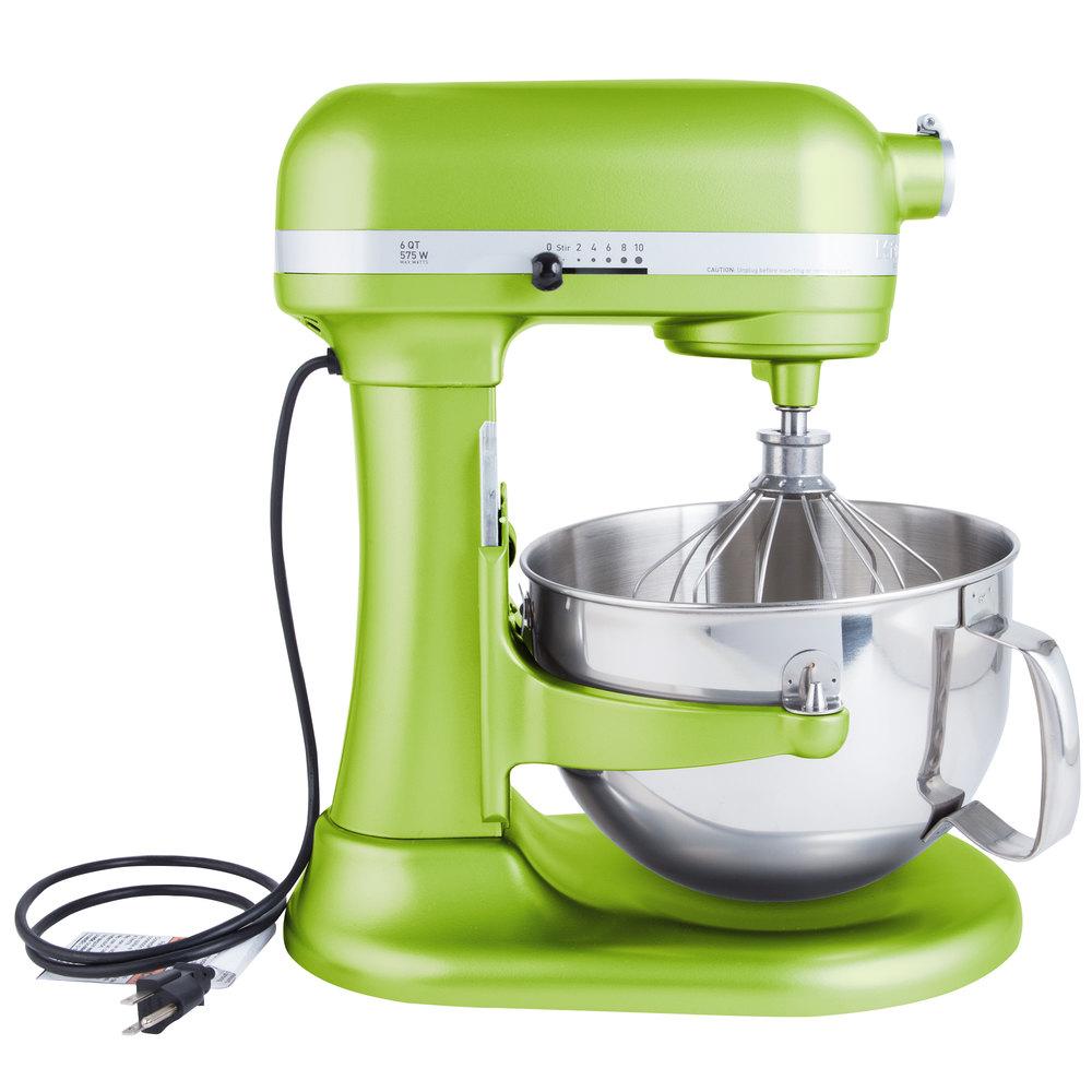 Kitchenaid Kp26m1xga Green Apple Professional 600 Series 6
