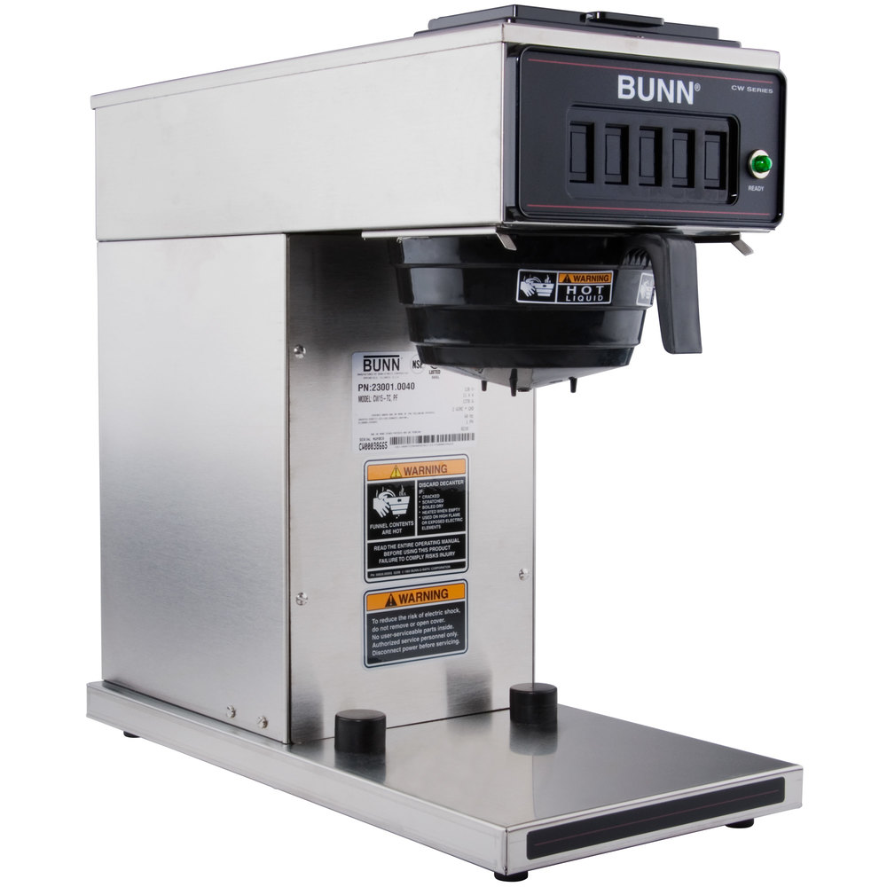Bunn Industrial Coffee Maker Parts : Bunn 23001.0040 CW15-TC Pourover Thermal Carafe Coffee Brewer - 120V