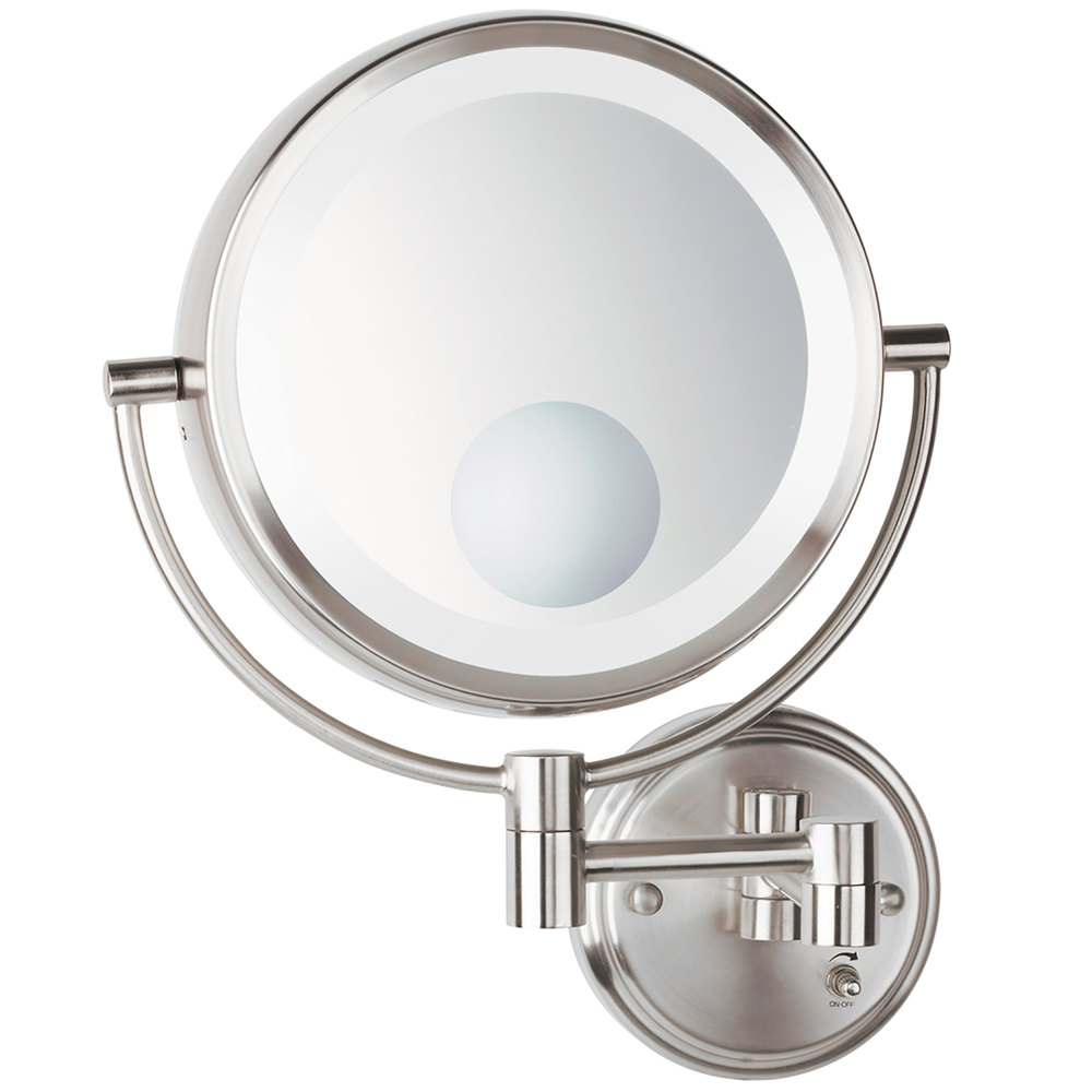 Conair be11wd wall mount mirror lighted brushed nickel conair be11wd wall mount mirror lighted brushed nickel main picture image preview image preview image preview amipublicfo Images