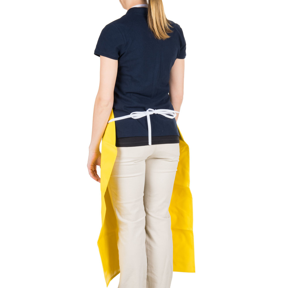 White neoprene apron -  Image Preview