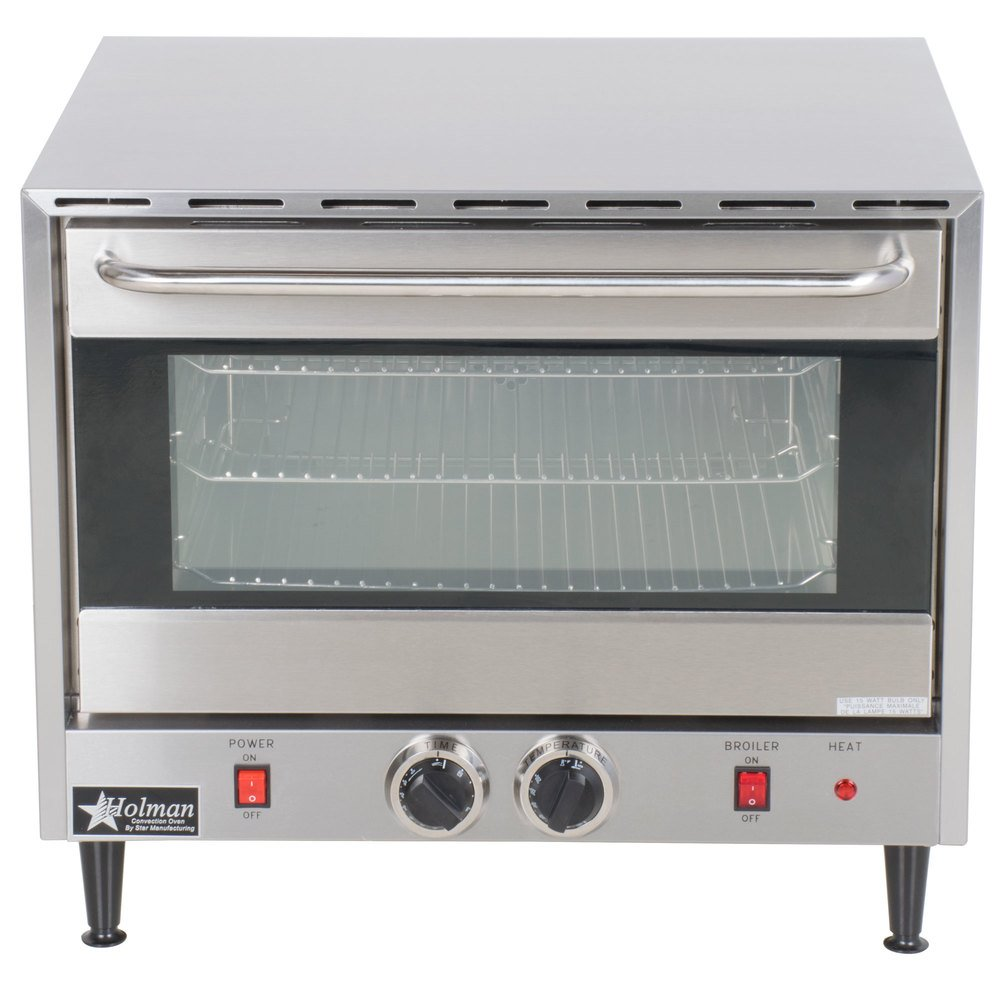 Electric Convection Oven ~ Star ccoh electric countertop half size convection oven v