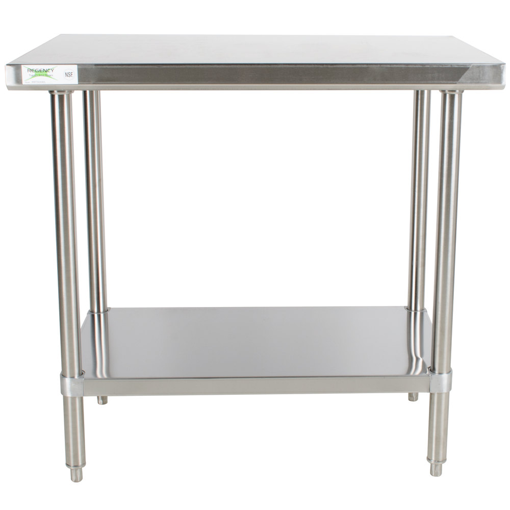 Stainless Steel Work Tables Food Prep Tables Stainless Steel Tables - Restaurant supply prep table