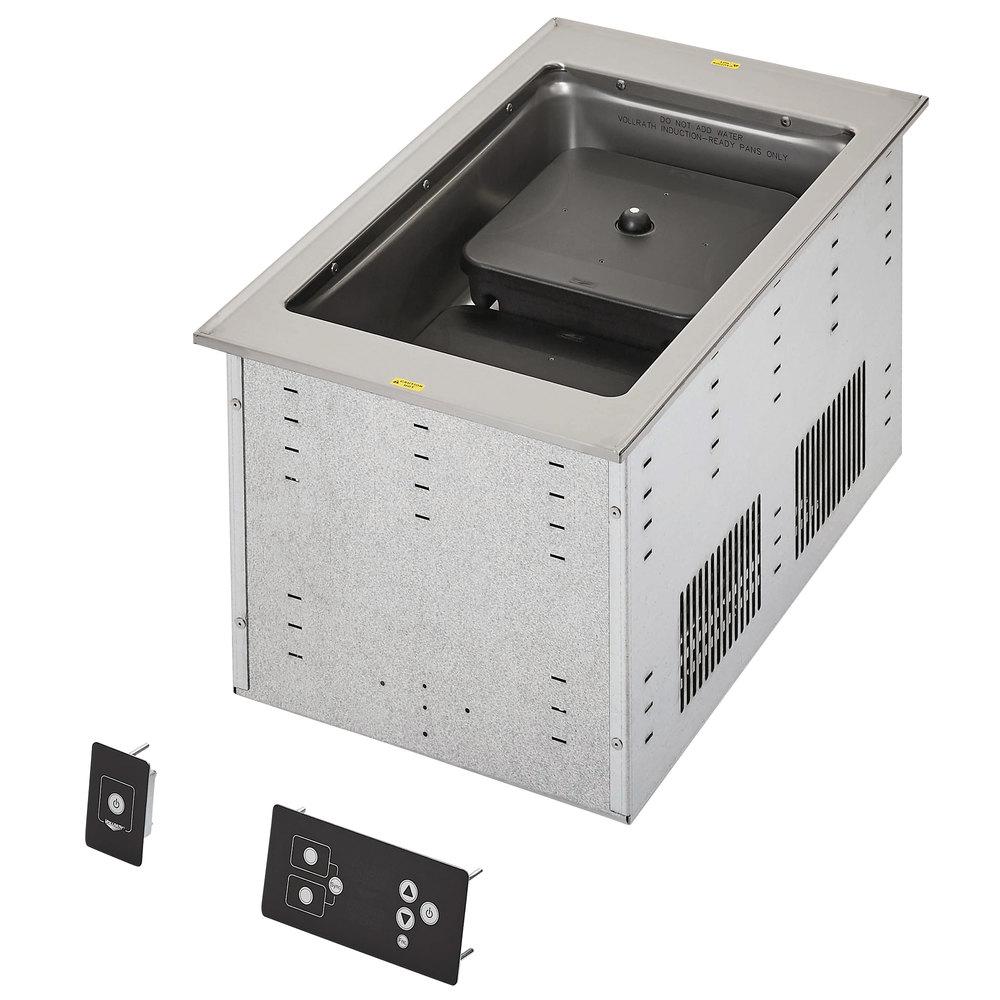 Vollrath FC-6IH-01120 single well modular induction drop in hot food well