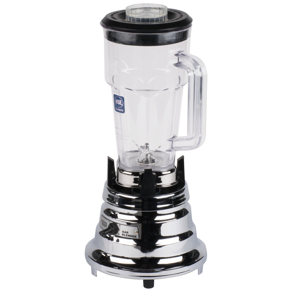 959945 waring bb900p 48 oz two speed chrome bar blender  at edmiracle.co