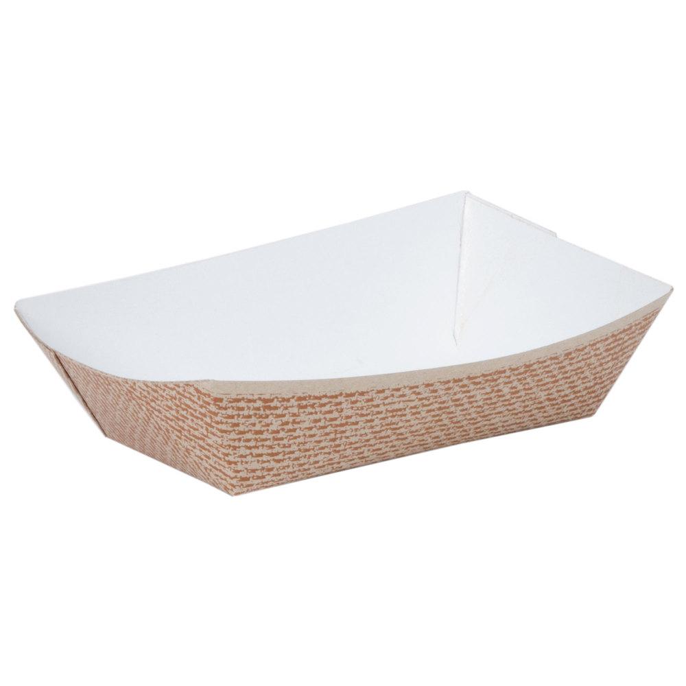 2 Lb. Hearthstone Paper Food Tray