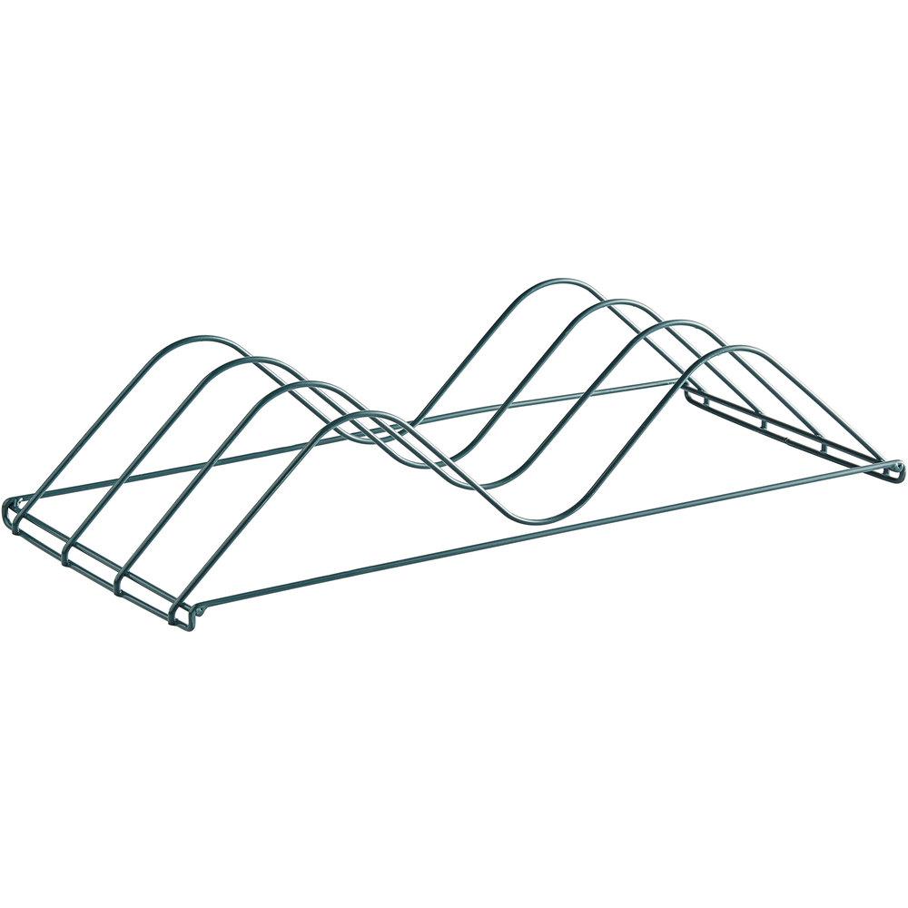 Regency Add-On Drying Rack for 24 inch Shelves - 3 inch Slots