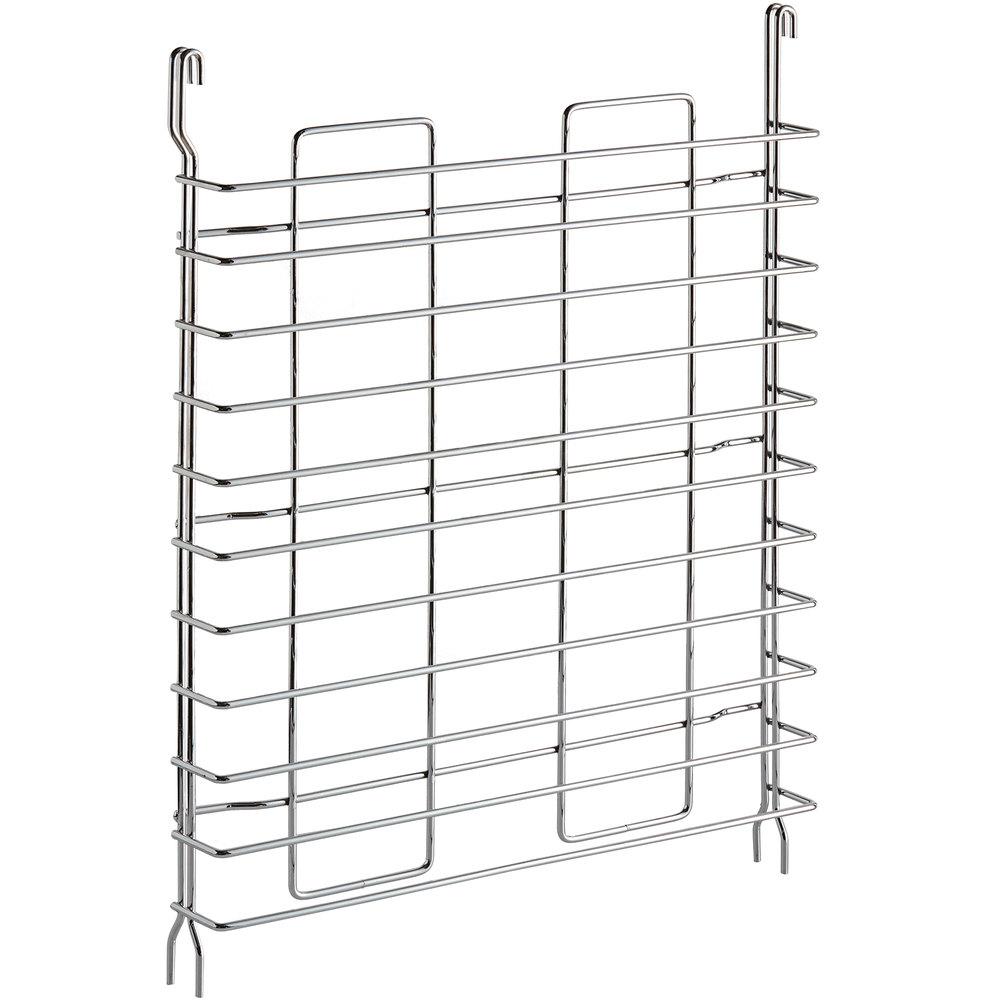 Regency Tray Slides for 18 inch Deep Chrome Shelves - 11 Pan Capacity - 2/Pack