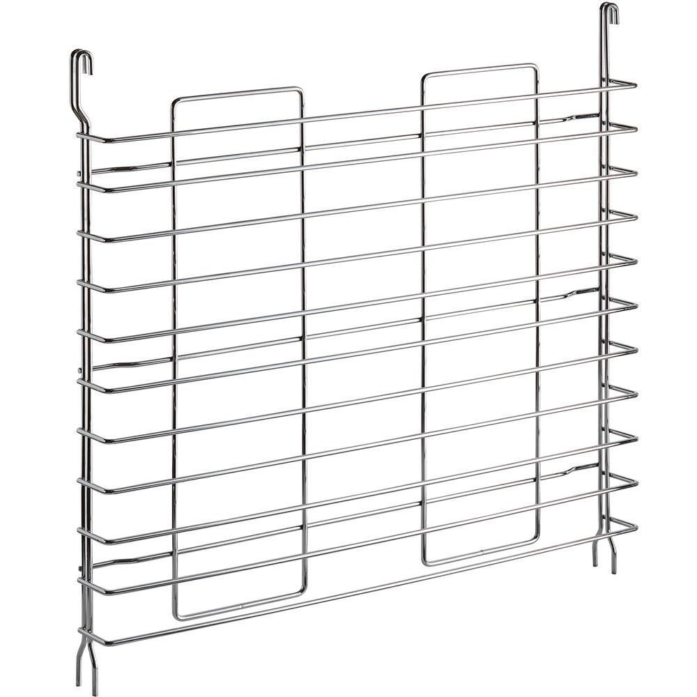 Regency Tray Slides for 24 inch Deep Chrome Shelves - 11 Pan Capacity