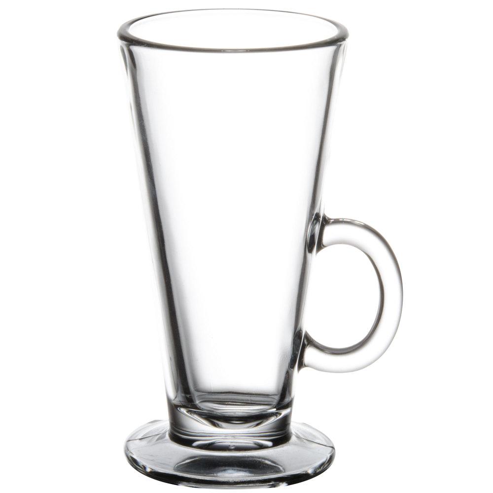 Oz Glass Coffee Mug