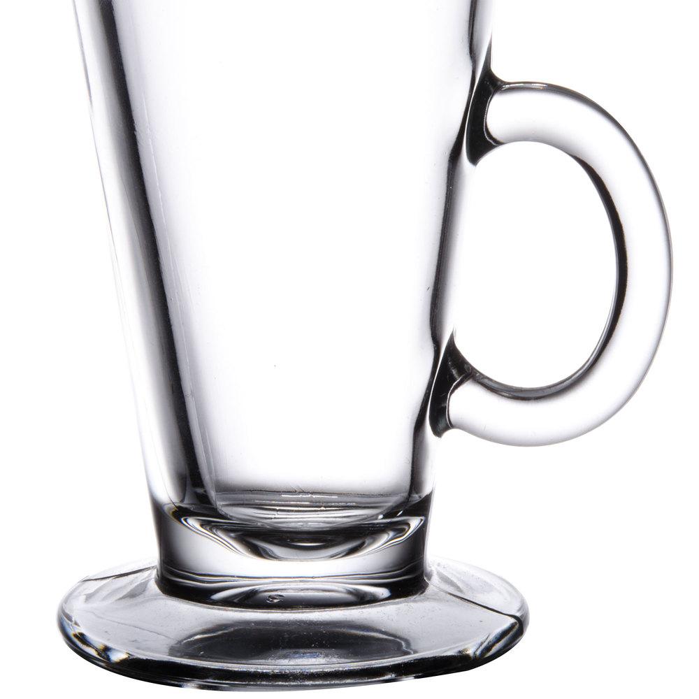 Libbey 5293 85 oz Irish Glass Coffee Mug 24Case