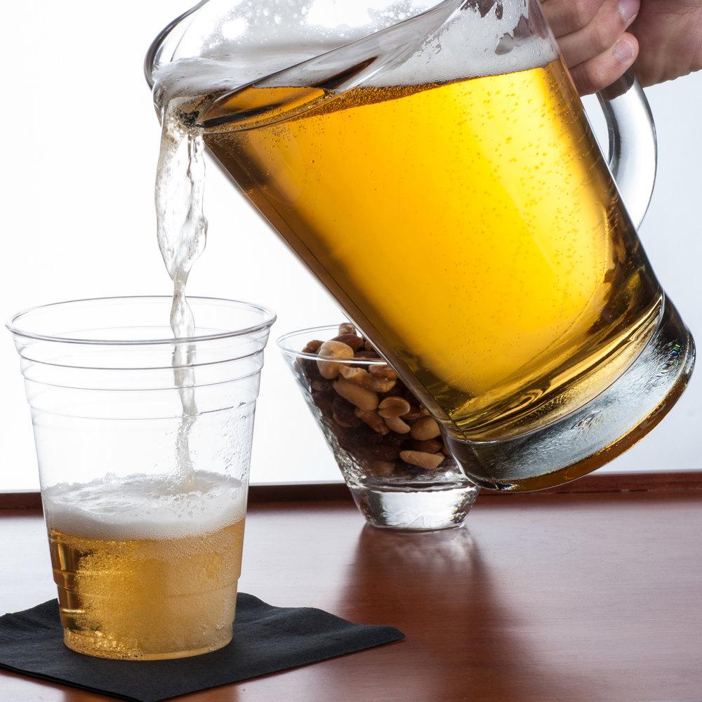 Anchor Hocking 1155ur 1 7 Qt Glass Beer Wagon Pitcher
