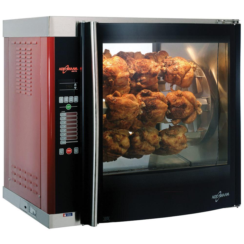 Alto Shaam Ar7e Single Pane Rotisserie Oven With 7 Spits