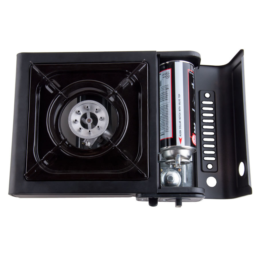 Countertop Gas Stove Portable : Burner High Performance Butane Countertop Range / Portable Stove