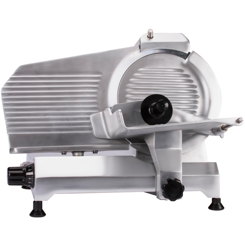 Globe Meat Slicer Parts : Globe chefmate c quot manual gravity feed slicer hp