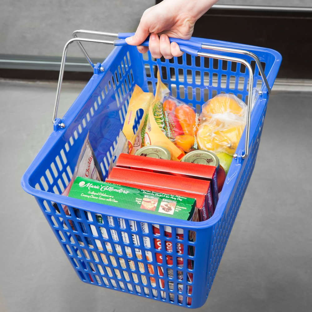Plastic Food Market Shopping Bags