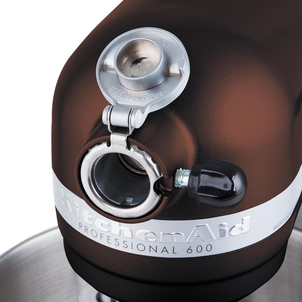 KitchenAid KP26M1XES Espresso Professional 600 Series 6 Qt ...