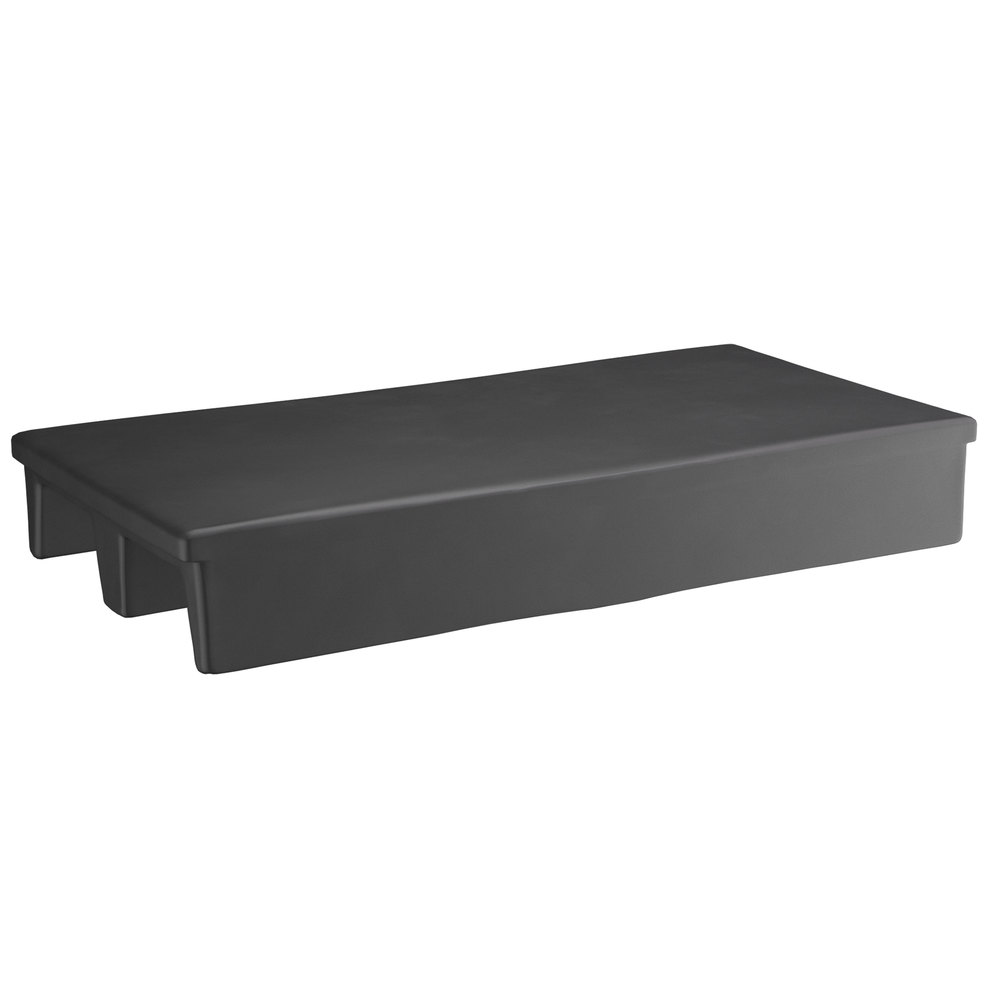 Regency 40 inch x 20 inch x 6 inch Black Plastic Display Base / Spot Merchandiser - 1000 lb. Capacity