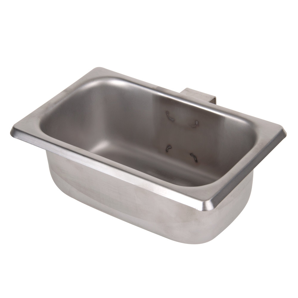 Exhaust Hood Grease Trap Pan - 6 3/4\