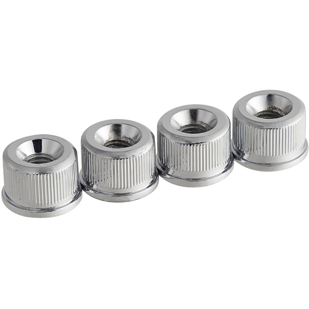 Regency Nuts for Stainless Steel Shelving Posts - 4/Pack