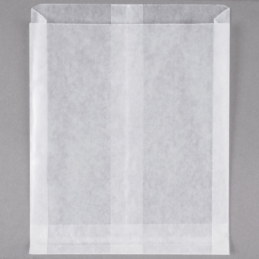 Bagcraft Papercon 300404 White Wet Wax Sandwich Bag 1000 Box
