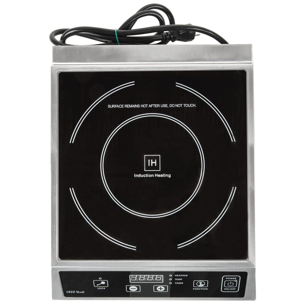 Countertop Induction Cooker - 120V, 1800W