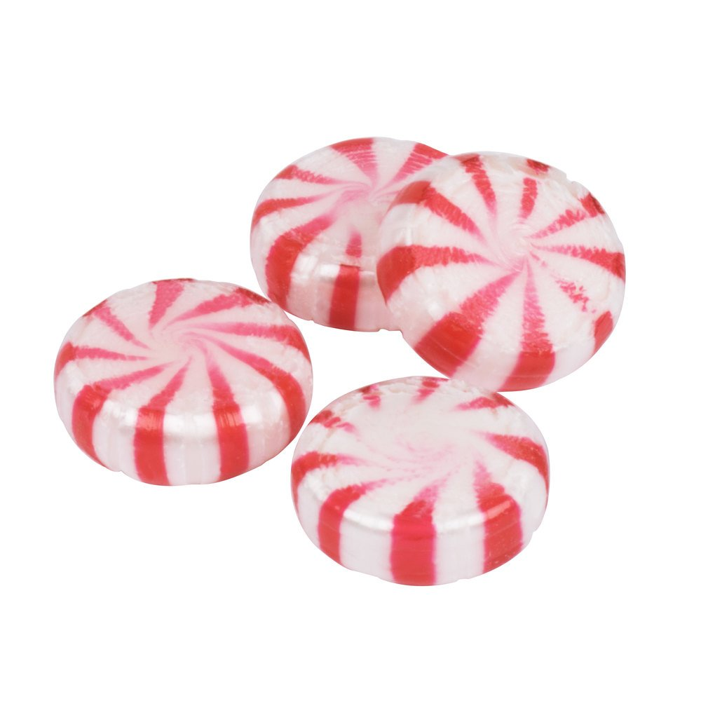 Peppermint Candy In Wrapper
