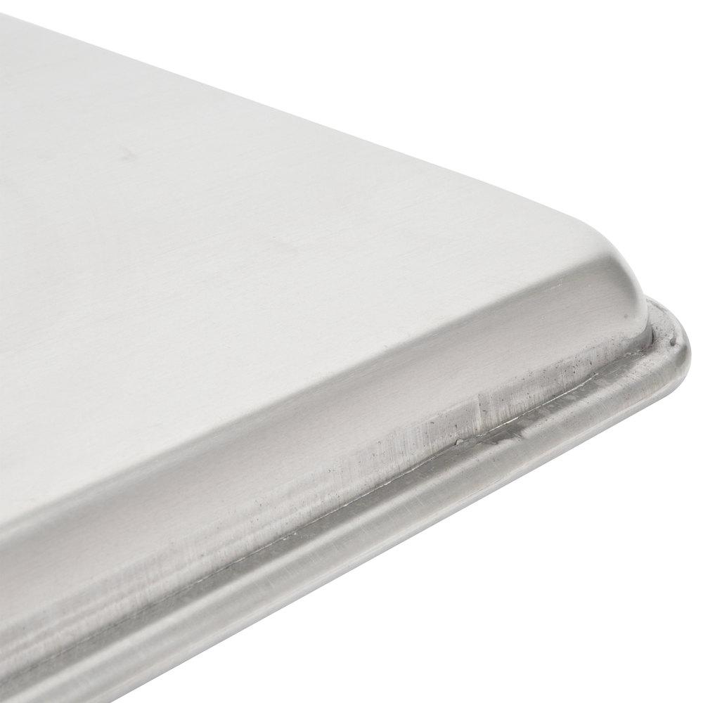 Vollrath 9001 Wear Ever Full Size 16 Gauge Aluminum Bun